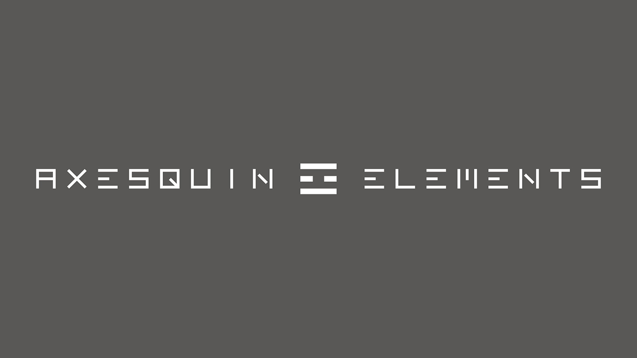 AXESQUIN ELEMENTS OFFICIAL SNS